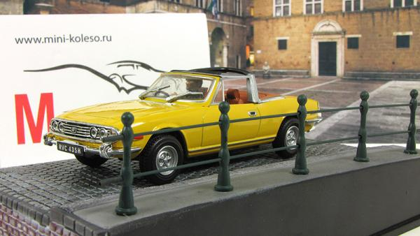 Triumph Stag Diamonds Are Forever 1971 Yellow (Atlas/IXO) [1971г., Желтый, 1:43]