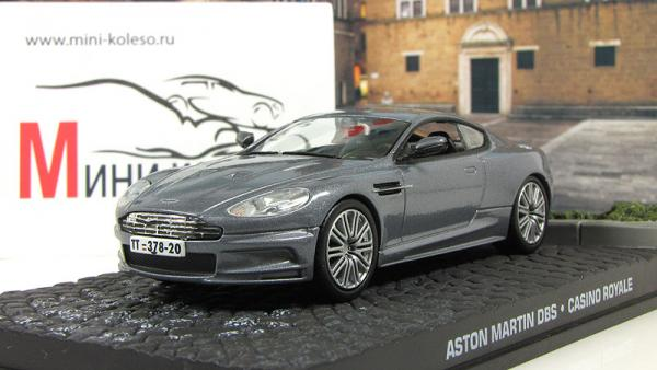 "Aston Martin DBS ""Casino Royale"" 2006 Grey Metallic (Atlas/IXO) [2006г., Серый, 1:43]"