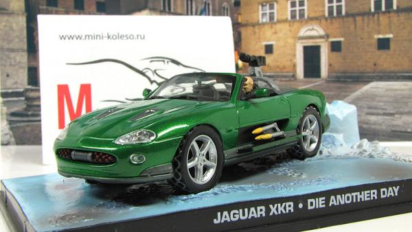 "JAGUAR XKR ""Die Another Day"" 2002 Green (Atlas/IXO) [2002г., Зеленый, 1:43]"