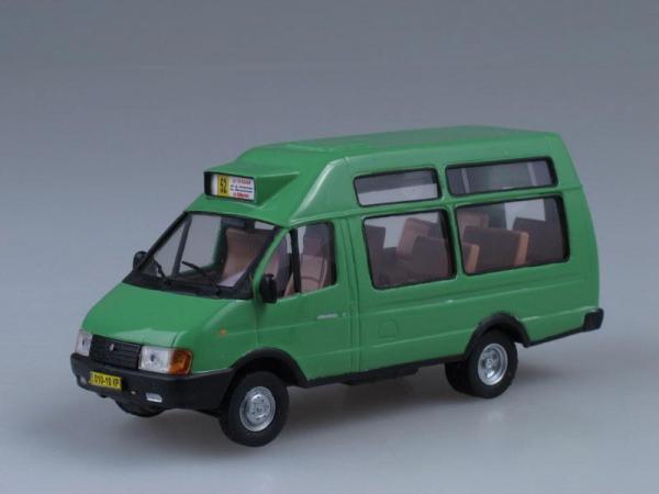 Рута СПВ-16 (33021) маршрутное такси (Vector-Models) [1995г., Зеленый, 1:43]