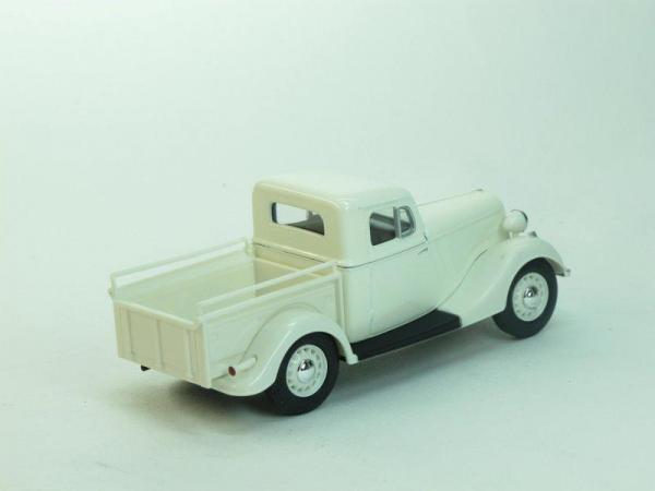 ГАЗ-М415 пикап (Наш Автопром) [1939г., Белый, 1:43]