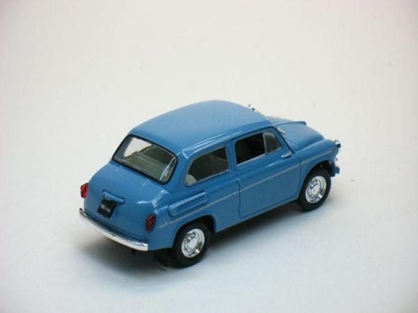 ЗАЗ-965Э «Ялта» (Наш Автопром) [1963г., Синий, 1:43]