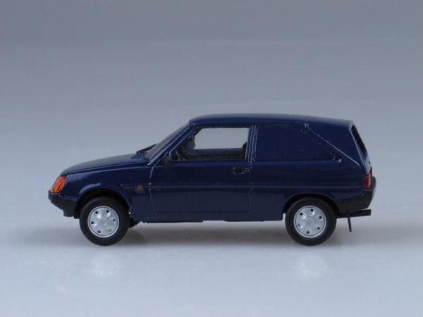 ЗАЗ-11026 минифургон (Vector-Models) [1987г., Темно-синий, 1:43]