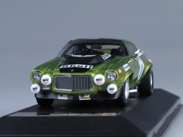 CHEVROLET CAMARO Z28RS#1 SPA (Premium X) [1971г., Зеленый металлик, 1:43]