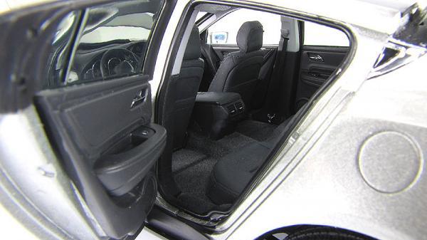 Acura ZDX 2011 (CDM Models) [2011г., Серебристый, 1:18]