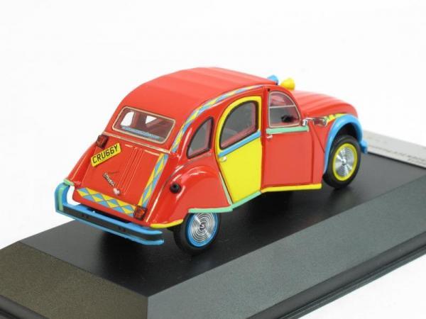 CITROEN 2CV Picasso (Premium X) [2007г., Красный, голубой и желтый, 1:43]