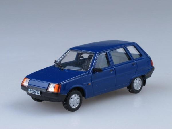 "ЗАЗ-1105 ""Дана"" универсал (Vector-Models) [1994г., Синий, 1:43]"