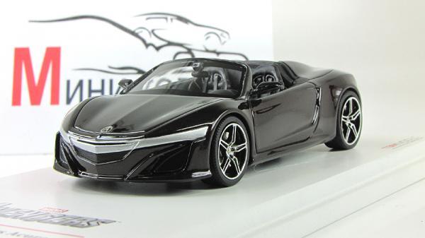 "ACURA NSX Roadster 2012 машина Тони Старка из к/ф ""Мстители"" (True Scale Miniatures) [2012г., Черный, 1:43]"