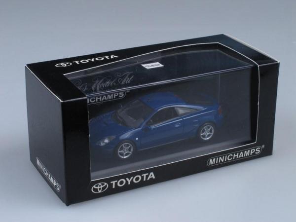 Toyota Celica (Minichamps) [1999г., Темно-синий металлик, 1:43]