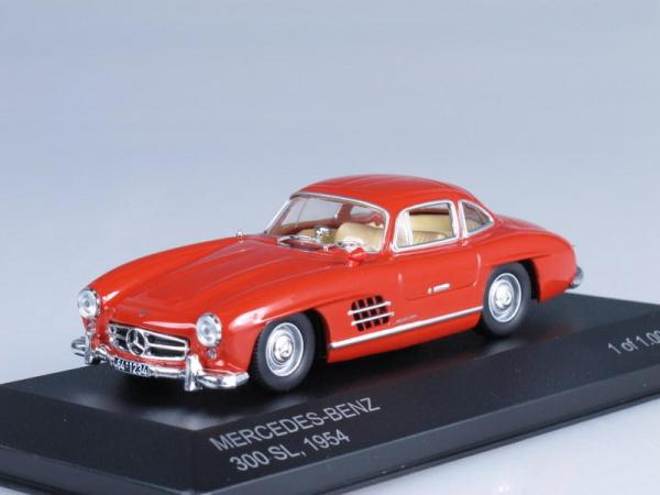 Mercedes-Benz 300 SL (W198) (WhiteBox) [1954г., Красный, 1:43]