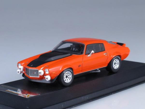 CHEVROLET CAMARO Z28RS#1 SPA (Premium X) [1971г., Оранжевый, 1:43]