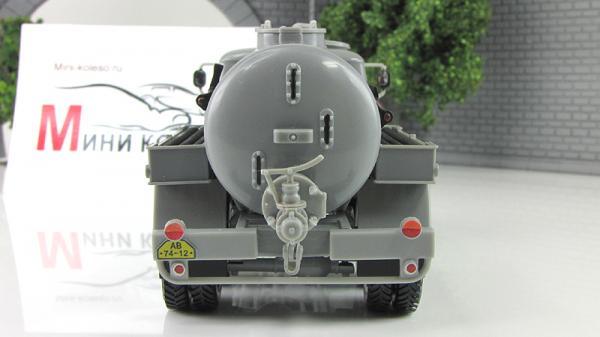 Прага V3S цистерна (Abrex) [1953г., Серый, 1:43]