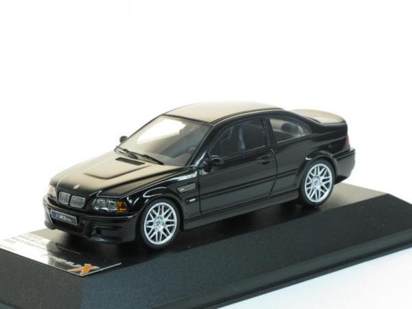 BMW M3 CSL (Premium X) [2003г., Черный метеллик, 1:43]
