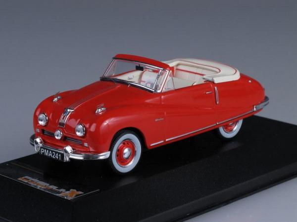 AUSTIN A90 Atlantic Convertible (Premium X) [1949г., Красный, 1:43]