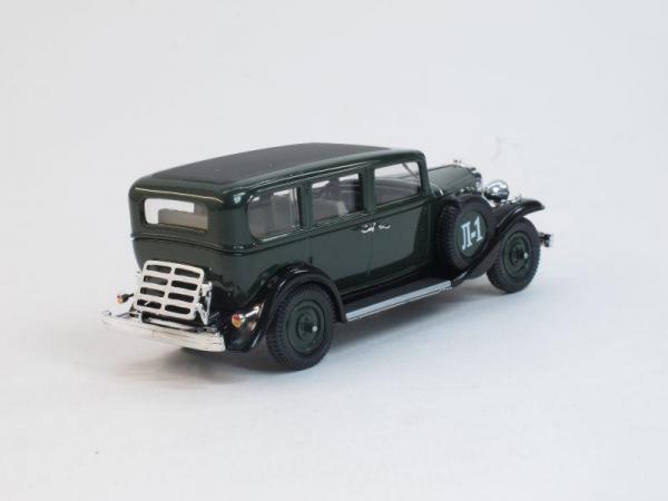 Ленинград-1 (Л-1) (Наш Автопром) [1933г., Зеленый, 1:43]