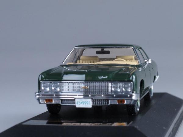 CHEVROLET BEL AIR (Premium X) [1973г., Темно-зеленый, 1:43]