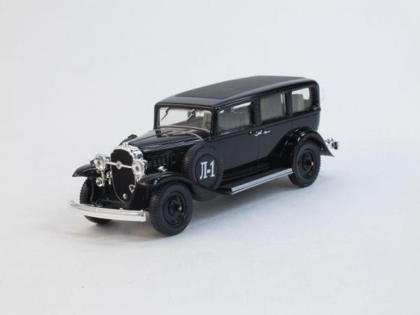 Ленинград-1 (Л-1) (Наш Автопром) [1933г., Черный, 1:43]