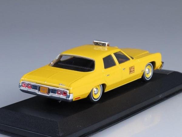 "CHEVROLET BEL AIR ""New York Taxi"" (Premium X) [1973г., Желтый, 1:43]"