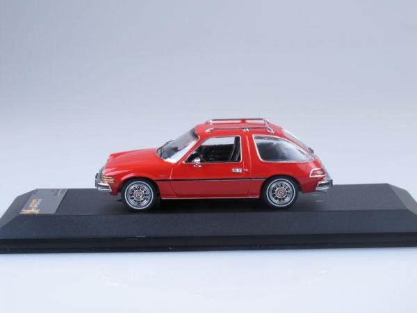AMC PACER X (Premium X) [1975г., Красный, 1:43]
