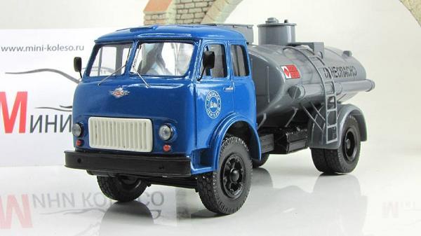 МАЗ-500 АЦ-8 (ALF) [1965г., Сине-серый, 1:43]
