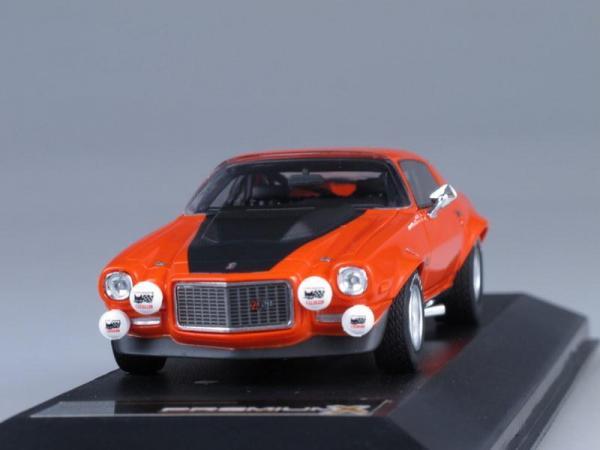 CHEVROLET CAMARO Z28RS#1 SPA (Premium X) [1971г., Оранжевый, 1:43]