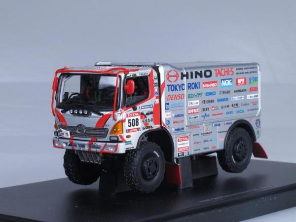Hino 500 Series Dakar Rally (Autoart) [2012г., Серый и красный, 1:43]