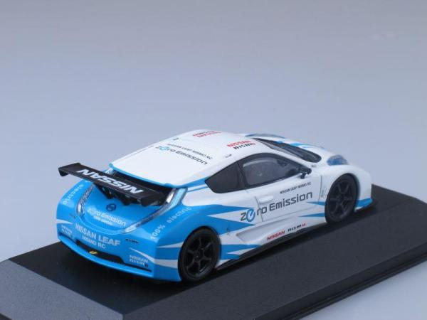 Nissan Leaf Nismo RC (J-collection) [2011г., Белый и голубой, 1:43]