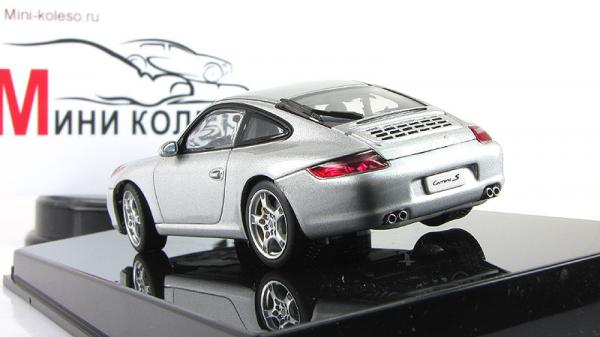PORSCHE 911 (997) CARRERA S (Autoart) [2010г., Серебристый, 1:43]