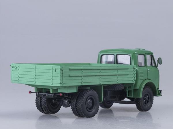 МАЗ-500 бортовой (Наш Автопром) [1965г., Светло-зеленый, 1:43]