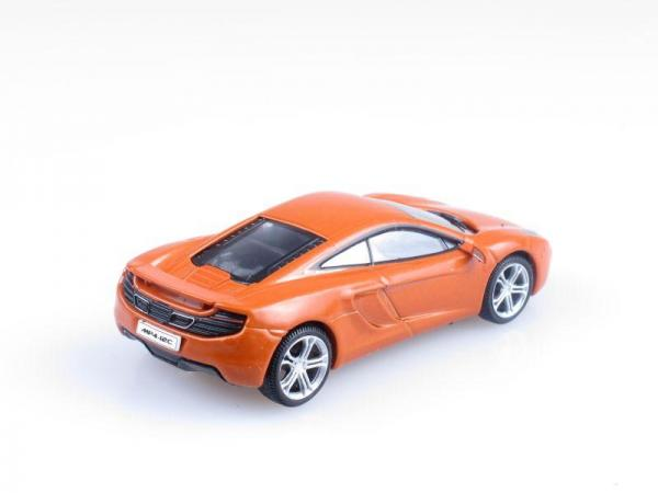McLaren MP4-12C (DeAgostini (Суперкары мира)) [2011г., Оранжевый, 1:43]
