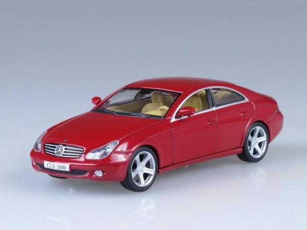 Mercedes-Benz CLS (DeAgostini (Суперкары мира)) [2004г., Бордовый, 1:43]
