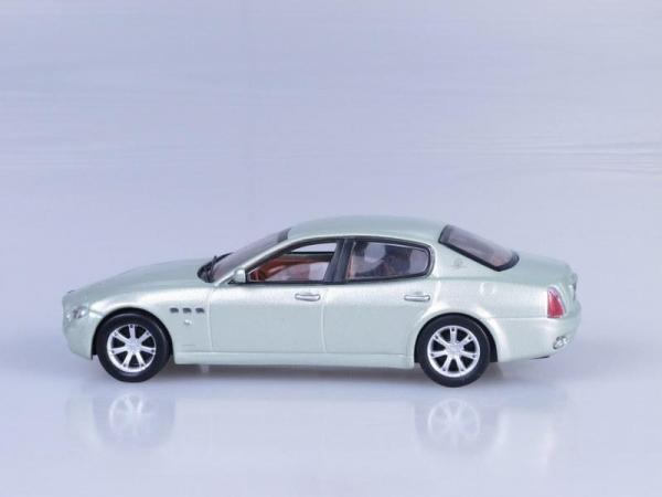 Maserati Quattroporte (DeAgostini (Суперкары мира)) [2009г., Светло-зеленый, 1:43]