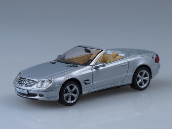 Mercedes-Benz SL 600 (DeAgostini (Суперкары мира)) [2004г., Серебристый металлик, 1:43]