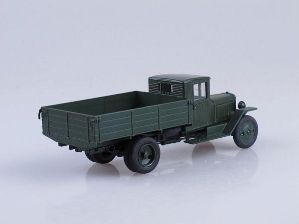 ЗИС-5В бортовой (Наш Автопром) [1942г., Тёмно-зелёный, 1:43]