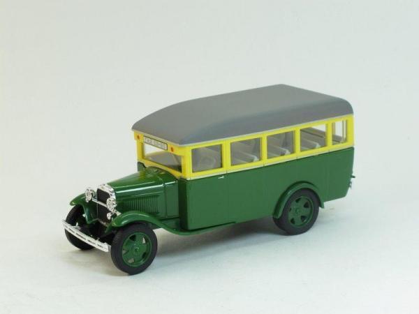 ГАЗ 03-30 (Наш Автопром) [1933г., зелёно-желтый, 1:43]