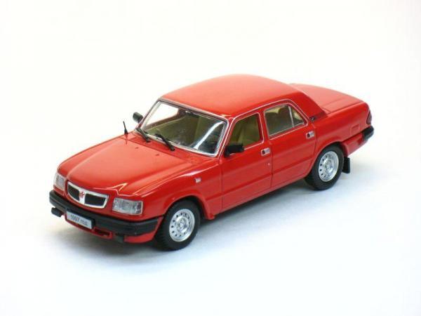 ГАЗ-3110 Волга (Наш Автопром) [1997г., Красный, 1:43]