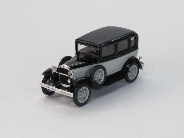 ГАЗ-3 (6) такси (Наш Автопром) [1934г., Серо-черный, 1:43]