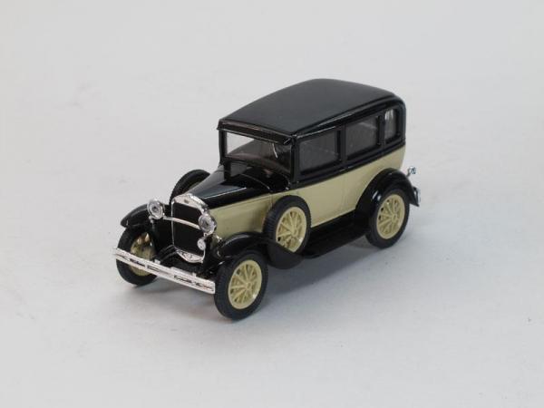ГАЗ-3 (6) такси (Наш Автопром) [1934г., Бежево-черный, 1:43]