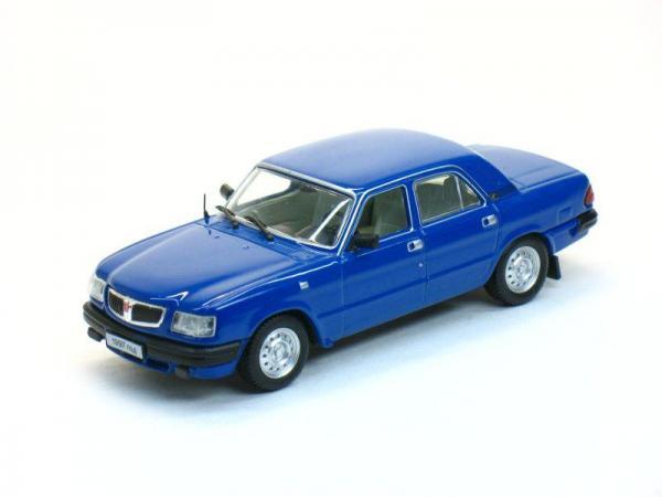 ГАЗ-3110 Волга (Наш Автопром) [1997г., Синий, 1:43]