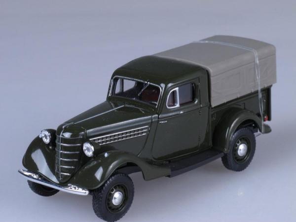 ГАЗ 61-415 (Наш Автопром) [1940г., Темно-зеленый, 1:43]