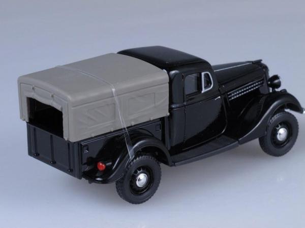 ГАЗ 61-415 (Наш Автопром) [1940г., Черный, 1:43]