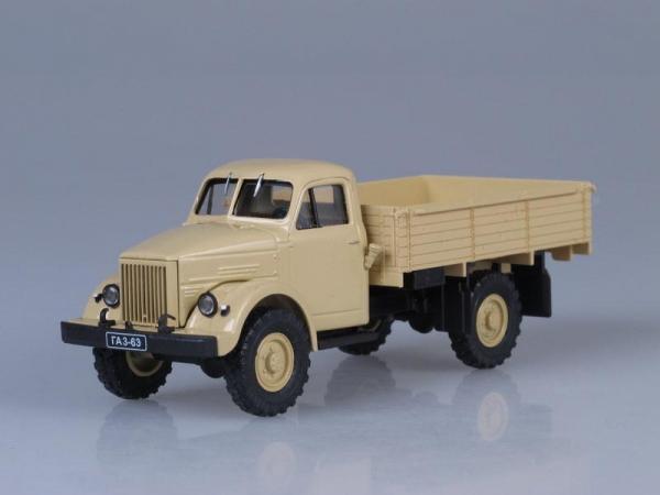 ГАЗ-63 (Наш Автопром) [1947г., Песочный, 1:43]