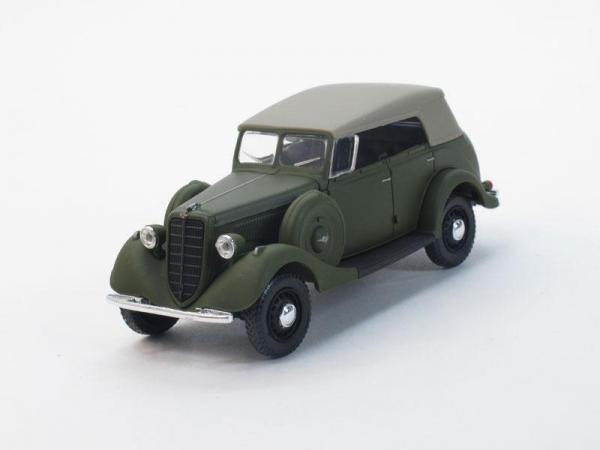 ГАЗ-61-40 с тентом (Наш Автопром) [1940г., Зеленый, 1:43]