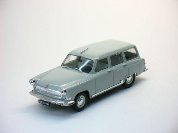 ГАЗ-22 «Волга» (Наш Автопром) [1962г., Серый, 1:43]