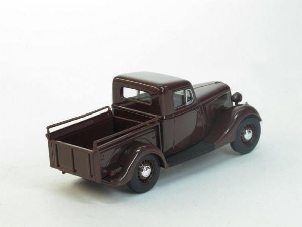 ГАЗ-М415 пикап (Наш Автопром) [1939г., Коричневый, 1:43]