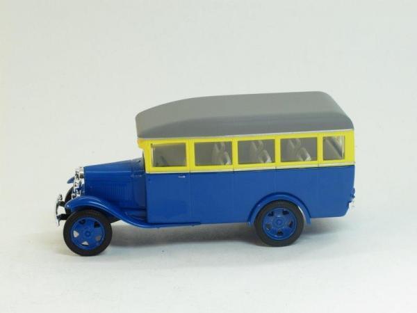 ГАЗ 03-30 (Наш Автопром) [1933г., сине-желтый, 1:43]
