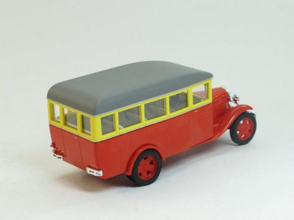 ГАЗ 03-30 (Наш Автопром) [1933г., красно-желтый, 1:43]