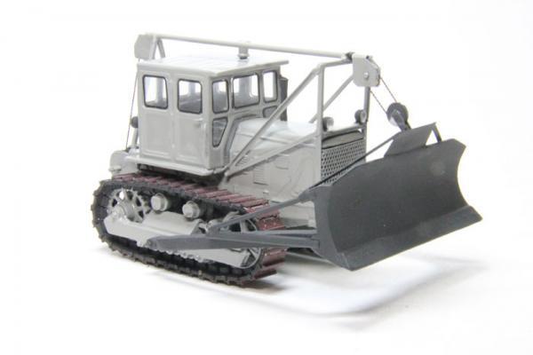 Трактор Т-175 (Миниград) [1990г., Серый, 1:43]