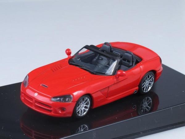 Dodge Viper SRT-10 Cabrio (Autoart) [2002г., Красный, 1:43]