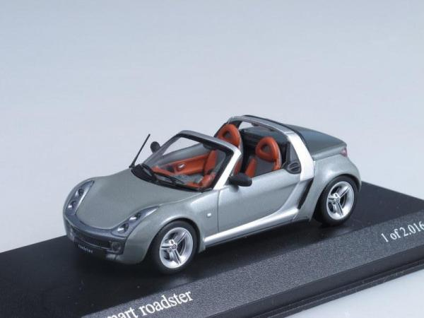 Smart roadster (Minichamps) [2003г., Серый, 1:43]